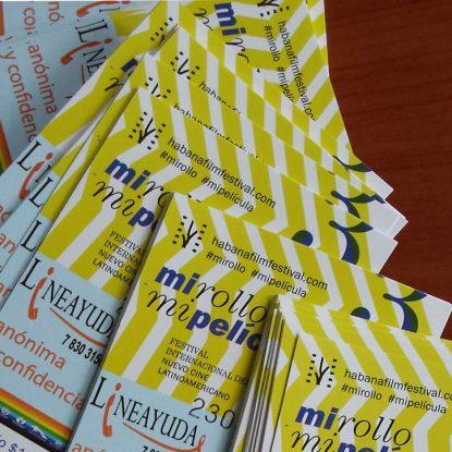 Venta de pasaportes para el 38 Festival