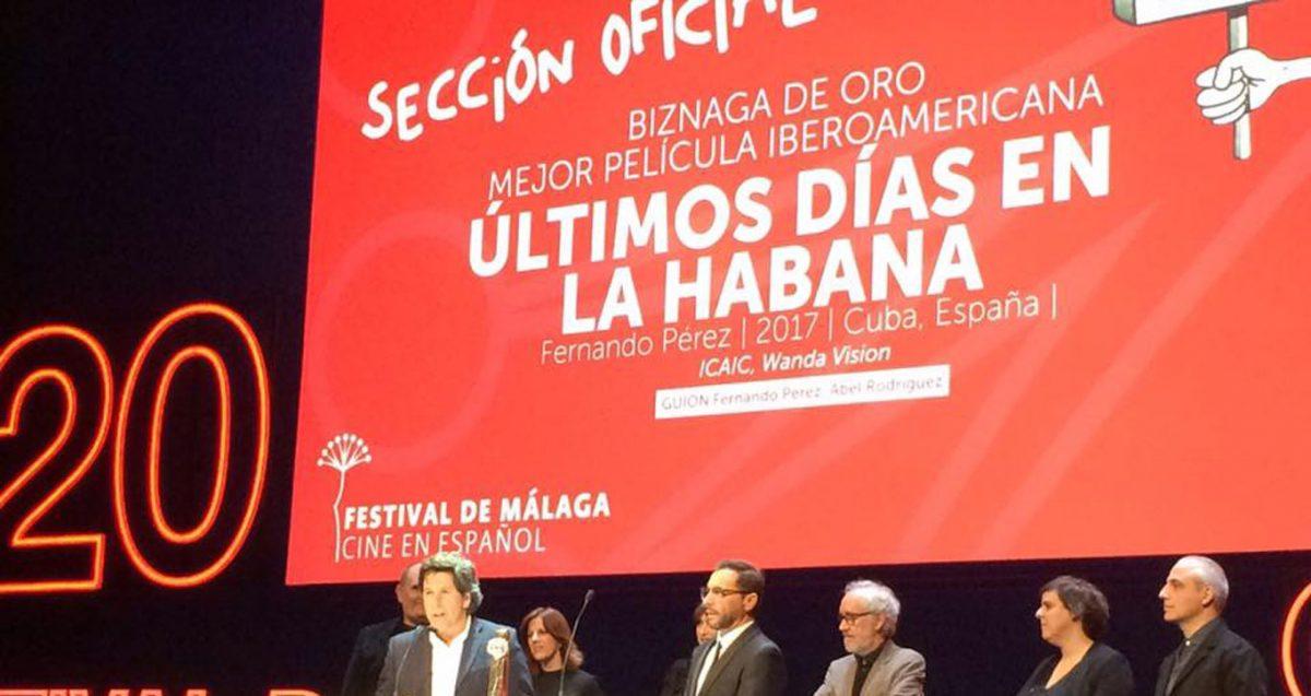 Últimos días en La Habana se lleva el Biznaga de Oro