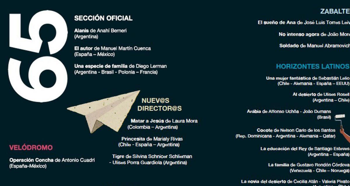 El cine latinoamericano también invade la ciudad de San Sebastián