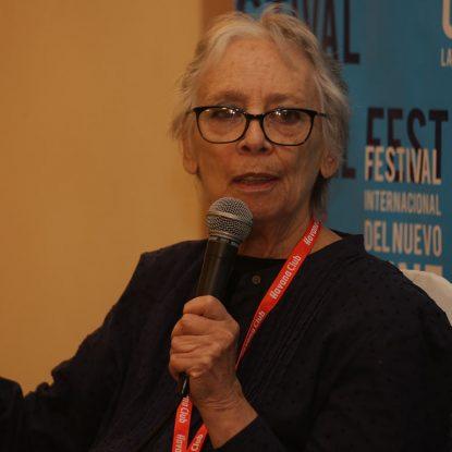 """Bertha Navarro: """"tengo una militancia de lo latinoamericano"""""""
