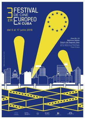 3er Festival de Cine Europeo en Cuba