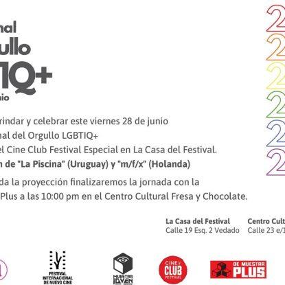 Cine Club Festival ondea bandera multicolor