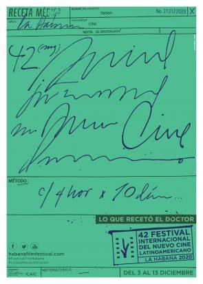 Cartel oficial del Festival 42