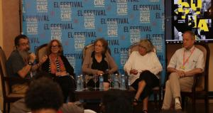 Panel de Narrativa impartido por el Instituto Sundance en La Habana