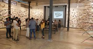 Actividad en el proyecto cultural Galeria Taller Gorria.
