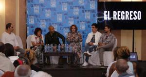 """Conferencia de prensa del filme """"El Regreso"""""""