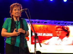 Coral de Honor a la productora argentina Lita Stantic.
