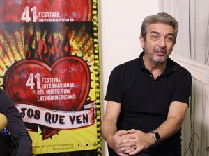 """El actor argentino Ricardo Darín, invitado especial por el filme """"El nido de las comadrejas""""."""