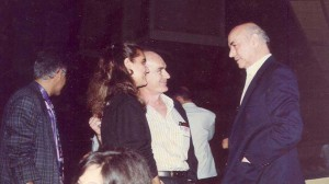Antonio Saura, Titon y su hija Marina