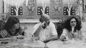 Susú Pecoraro, Reynaldo Miravalles y Ofelia Medina en el Bar Esperanza