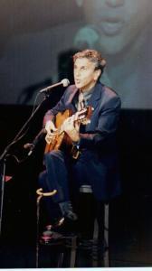 21 Festival 1999. Caetano Veloso en la inauguración del Festival