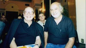 Alfredo Guevara y Miguel Littín