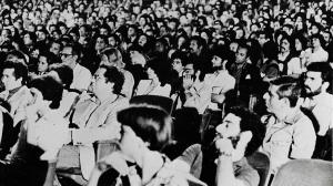 Público en la sala Charles Chaplin (Festival 2, 1980)