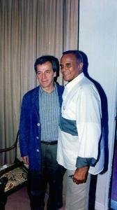 Costa Gavras y Harry Belafonte