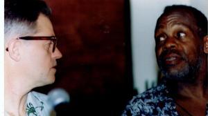 Jonathan Demme y Danny Glover
