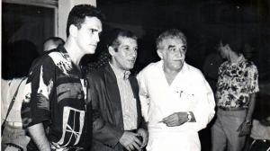 Matt Dillon, Orlando Senna y Gabriel García Márquez